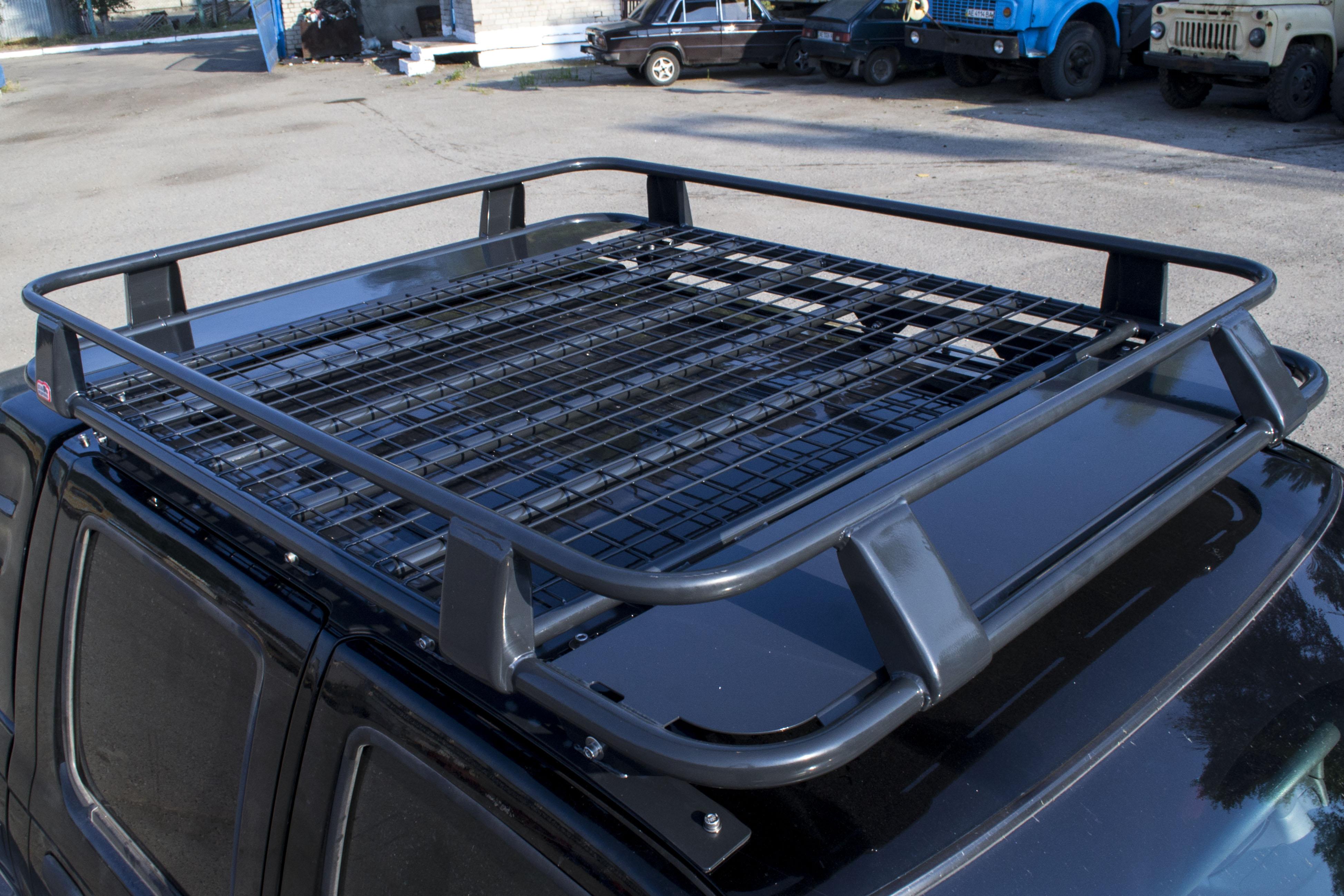 Багажник на крышу джипа своими руками 29